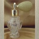 Vaporisateur de parfum poire courte modèle boule sur pied 50 ml