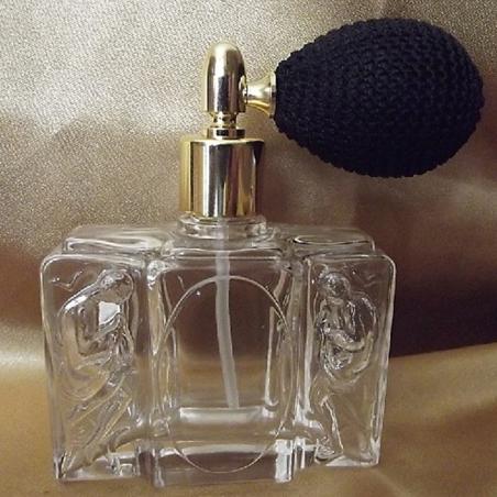 Vaporisateur de parfum poire modèle corps en 3 D 50 ml vide et rechargeable