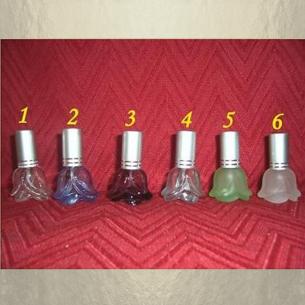 Vaporisateur de parfum vide et rechargeable 4 ml modèle rose Atomiseur classique  - Au pays des senteurs