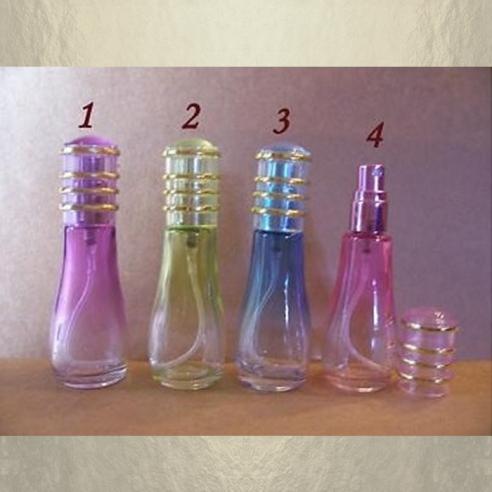 Vaporisateur de parfum vide et rechargeable 12 ml modèle couleur dégradée Atomiseur classique