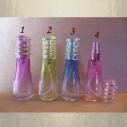 Vaporisateur de parfum vide et rechargeable 12 ml modèle couleur dégradée