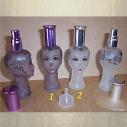 Vaporisateur de parfum vide et rechargeable de sac ou de collection modèle visage 22 ml