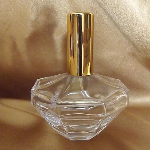 Vaporisateur de parfum vide et rechargeable en verre modèle diamant 50 ml Vaporisateurs de parfum