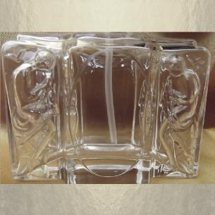 Vaporisateur de parfum vide et rechargeable corps en 3D 50 ml Vaporisateurs de parfum