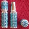 Vaporisateur de parfum de sac strass 6 ml parme vide et rechargeable