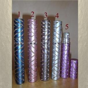 Vaporisateur de parfum de sac 4 ml en métal Vide et rechargeable De sac - de poche - Au pays des senteurs