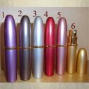 Vaporisateur de parfum de sac 5 ml en métal liseré vide et rechargeable