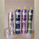 Vaporisateur de parfum de sac 8 ml en métal spirale vide et rechargeable