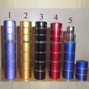 Vaporisateur de parfum de sac 12 ml en métal vide et rechargeable De sac - de poche - Au pays des senteurs
