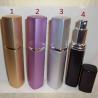Vaporisateur de parfum en métal 32 ml rectangle vide et rechargeable