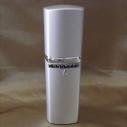 Vaporisateur de parfum CRISTAL DE SWAROVSKI  décoration artisanale métal argent 50 ml