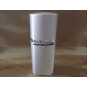 Vaporisateur de parfum CRISTAL DE SWAROVSKI  décoration artisanale métal argent 50 ml  - 1