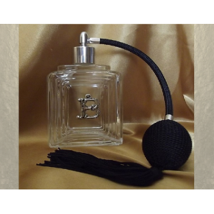Vaporisateur de parfum initiale Cristal de SWAROVSKI décoration artisanale en verre vide et rechargeable Vaporisateurs de parfum