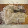 Vaporisateur de parfum CRISTAL DE SWAROVSKI corset cuir parme irisé artisanal, pompon parme