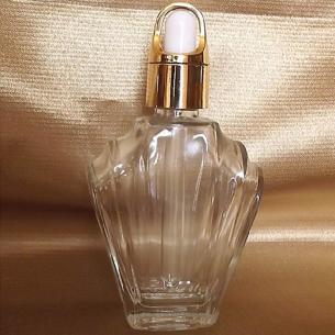 copy of Flacon sérums et huiles cheveux corps vide et rechargeable avec pipette compte gouttes  - 1