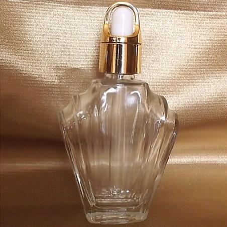 copy of Flacon sérums et huiles cheveux corps vide et rechargeable avec pipette compte gouttes