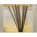 Bâtons pour diffuseurs par capillarité en fibres de coton naturel enrobées noirs x 10