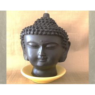Bougie bouddha noir 14 cm...