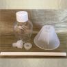 Diffuseur par capillarité bâton mèche coton enrobée parfum sans alcool 50 ml détails