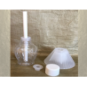 Diffuseur par capillarité bâton mèche coton enrobée parfum sans alcool 50 ml détails 2