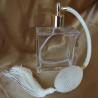 Vaporisateurs de parfum poire ivoire blanc cassé carré plat 100 ml