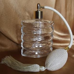 Vaporisateur de parfum poire plat spirale 110 ml vide et rechargeable Vaporisateurs de parfum