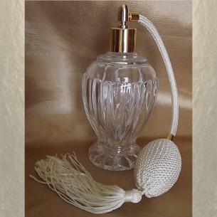 Vaporisateur de parfum poire boule sur pied 110 ml vide et rechargeable  - 10
