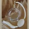 Vaporisateurs de parfum poire ivoire, blanc cassé rond plat sur pied 120 ml