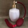 Vaporisateur de parfum poire bordeaux verre blanc 125 ml vide et rechargeable