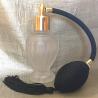 Vaporisateur de parfum poire noire boule sur pied givré 50 ml