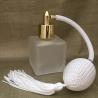 Vaporisateur de parfum poire bordeaux carré givré 50 ml