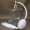 Vaporisateur de parfum poire blanche vide et rechargeable carré plat 100 ml