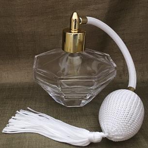 Vaporisateur de parfum poire diamant 100ml vide et rechargeable Vaporisateurs de parfum