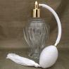 Vaporisateur de parfum poire blanche boule sur pied 110 ml vide et rechargeable