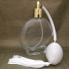 Vaporisateur de parfum poire blanche rond plat 120 ml vide et rechargeable