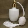 Vaporisateur de parfum poire blanche verre blanc 125 ml vide et rechargeable