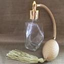 Vaporisateur de parfum poire or facettes 60 ml