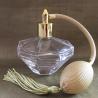 Vaporisateur de parfum poire or diamant 100 ml vide et rechargeable