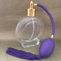 Vaporisateur de parfum poire parme rond plat 120 ml vide et rechargeable