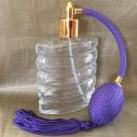 Vaporisateur de parfum poire parme plat spirale 110 ml vide et rechargeable