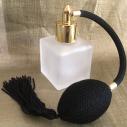 Vaporisateur de parfum poire noire carré givré 50ml