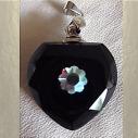 Fiole pendentif diffuseur de parfum en cristal avec Strass CRISTAL DE SWAROVSKI