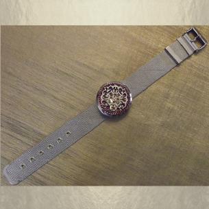 Bracelet diffuseur de parfum CRISTAL DE SWAROVSKI artisanal  - 1