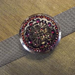 Bracelet diffuseur de parfum CRISTAL DE SWAROVSKI artisanal  - 2