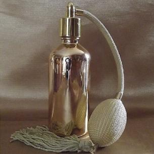Vaporisateur de parfum poire noire effet miroir or 50 ml Vaporisateurs de parfum