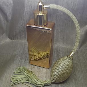 Vaporisateur de parfum poire or effet miroir or rectangle 55 ml Vaporisateurs de parfum