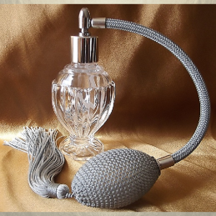 vaporisateur de parfum poire modèle boule sur pied 50 ml  - 7