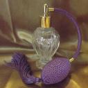 vaporisateur de parfum poire parme modèle boule sur pied 50 ml