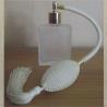 Vaporisateur de parfum poire ivoire, blanc cassé carré givré 60 ml