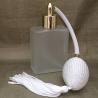 Vaporisateur de parfum poire blanche verre carré givré 60 ml